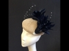 Couture by Beth Hirst Almond and Navy Beret