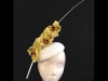 Couture by Beth Hirst Yellow Orchid Beret