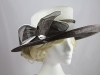 Hawkins Collection Large Bow Wedding Hat