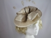 Hawkins Collection Bow Disc Headpiece in Cream