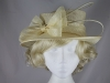 Hawkins Collection Quills Occasion Hat in Cream