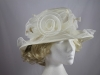 Hawkins Collection Collapsible Organza Occasion Hat