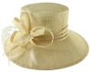 Hawkins Collection Down Brim Occasion Hat in Cream