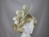 Loops and Quills Headpiece in Cream