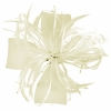 Molly and Rose Biots and Beads Aliceband Fascinator in Cream