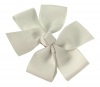 Molly and Rose Small Hair Bow in Cream
