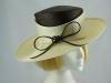 Whiteley Carris Wedding hat