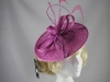 Failsworth Millinery Events Disc in Crocus