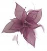 Failsworth Millinery Organza Petals Fascinator in Crocus