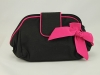 Cynthia Rowley Black and Pink Clutch Bag