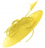 Failsworth Millinery Butterfly Events Disc in Daffodil