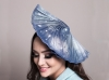 Deb Fanning Millinery Navy and Crystal Moonwaves Hat
