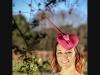 Deb Fanning Millinery Pink Heart Hat