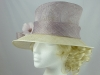 Debut Lilac and Ivory Wedding Hat