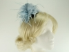 Failsworth Millinery Feather Fascinator in Delft
