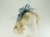 Failsworth Millinery Sinamay Fascinator in Delft