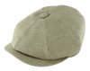 Failsworth Millinery Irish Linen Alfie Cap in Dove
