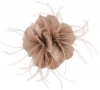 Failsworth Millinery Feather Fascinator in Dusk