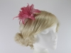 Aurora Collection Flower Fascinator in Dusky Pink