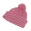 Hawkins Chunky Knit Beanie Hat in Dusky Pink