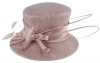 Failsworth Millinery Occasion Hat in Dusky