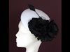 Edel Staunton Millinery Black and White Beret