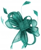 Hawkins Collection Sinamay Fascinator in Emerald