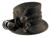 Hawkins Collection Nested Loops Occasion Hat in Espresso