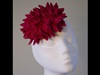 Esther Louise Millinery Coral Button
