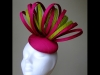 Esther Louise Millinery Carnival Silk Button