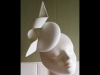 Esther Louise Millinery Sculptural Spiral Button Hat