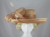 Failsworth Millinery Beige Events Hat