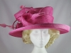 Failsworth Millinery Bright Pink Wedding / Events Hat