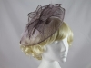 Failsworth Millinery Deep Mauve Headpiece