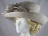 Failsworth Millinery Grey Wedding / Events Hat