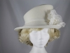 Failsworth Millinery Ivory Winter Occasion Hat