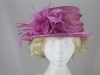 Failsworth Millinery Magenta Wedding Hat