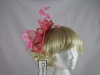 Failsworth Millinery Pink Fascinator