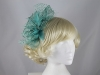 Failsworth Millinery Sinamay Fascinator in Mint