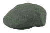 Failsworth Millinery Stornoway Flat Cap in Grey Blue
