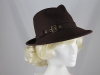 Failsworth Millinery Winter Hat in Brown
