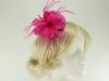 Failsworth Millinery Feather Fascinator in Fandango