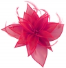 Failsworth Millinery Organza Leaves Fascinator in Fandango