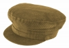 Failsworth Millinery Mariner Cord Cap in Fawn