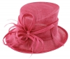 Max and Ellie Occasion Hat in Flamingo