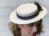 Fraser Annand Millinery Eleni Straw Boater