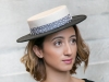 Fraser Annand Millinery Zelda Sinamay and Felt Boater