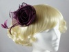 Freya Fascinator in Purple