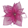 Failsworth Millinery Diamante Organza Fascinator in Fuchsia