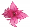 Failsworth Millinery Organza Petals Fascinator in Fuchsia